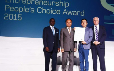 ITU Telecom World Entrepreneurship People's Award