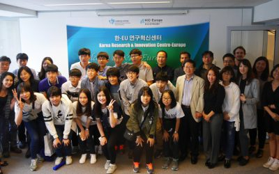 Korean High School Students in Europe